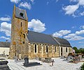 Église Saint-Mathieu et Saint-Lô d'Ouffières. Vue sud-ouest depuis le cimetière.jpg