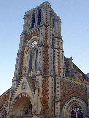 Joué-sur-Erdre - Church of St-Léger, Joué-sur-Erdre