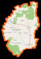 Łęka Opatowska (gmina) location map.png