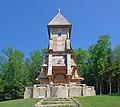 Łużna, cmentarz wojenny nr 123, kaplica cmentarna (gontyna) (HB1).jpg