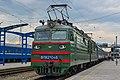 ВЛ82М-046, Украина, Днепропетровская область, станция Днепропетровск (Trainpix 195323).jpg