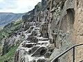 Ва́рдзиа — пещерный монастырский комплекс XII—XIII веков на юге Грузии, в Джавахетии 02.jpg
