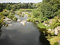 Вид з моста через р. Рось на острів Дені у Корсунь-Шевченківському парку Черкаської області, Україна.jpeg