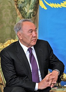 Nursultan Nazarbayev first president of Kazakhstan