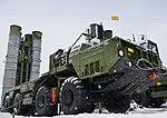 Заступление на боевое дежурство ЗРК С-400 «Триумф» в Солнечногорске 10.jpg