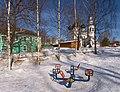Зимой в Вологде. Вид с Никольской церковью во Владычной слободе.jpg
