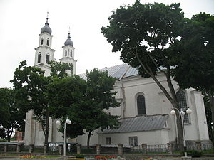 Dzyatlava - Catholic Church of the Assumption of Mary founded by Sejm Marshal Lew Sapieha