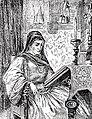 Краљица Јелена у дворцу Брњацима (Јелена Анжујска, око 1225 - 1314).jpg