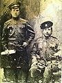Лазарченко М.Т. (зліва) житель села Манухівка на фронтах Першої світової війни .jpg
