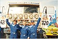 Легендарный экипаж Владимир Чагин, Семен Якубов и Сергей Савостин, 1996 год.jpg