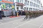 Президент України Петро Порошенко привітав молодих офіцерів з випуском 725 (16919793516).jpg
