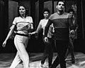 Саша Варламов - Репетиция в Минском театре моды - 1987 г.jpg