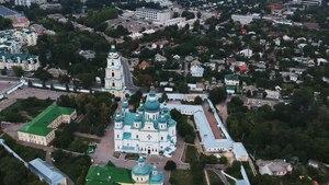File:Троїцько-Іллінський монастир з висоти.webm