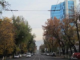 street in Almaty