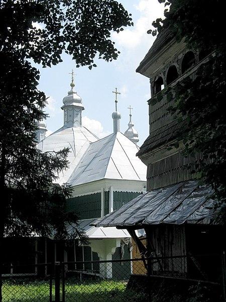 Церква Св.Кузьми і Дем'яна (дер.) 1697 р. с.Махнівці.