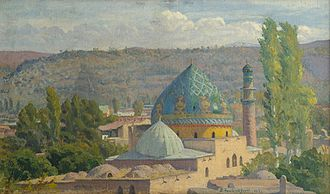 Blue Mosque, Yerevan - Image: Գոյ մզկիթը (1917)