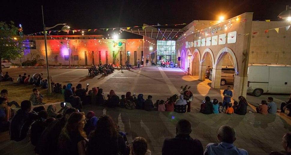 חגיגות פסטיבל לילות רמדאן במרכז העיר