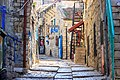 רחוב בעיר העתיקה בצפת.jpg