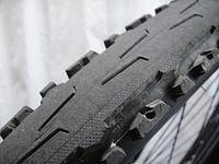 自転車の 自転車 タイヤ 種類 700c : セミスリックタイヤ (KENDA)