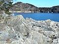 大理石海岸と出山Mt.Deyama - panoramio.jpg