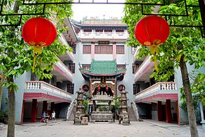 Guangdong - The Buddhist Yuhua Temple in Ronggui, Shunde.
