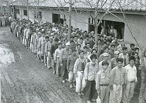 National Defense Corps incident - National Defense Corps soldiers in January, 1951