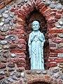 -2018-11-06 Green statue of St Andrew, Saint Andrew's, Bacton.JPG