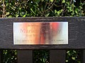 -2018-12-17 Marion Creasey dedicated bench, North Lodge Park, Cromer.JPG