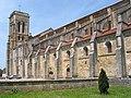00 Basilique Ste-Marie-Madeleine de Vézelay - Tour et côté sud.JPG