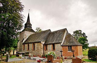 Aubermesnil-Beaumais Commune in Normandy, France