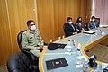 09 03 2021 - Ministro da Defesa, Fernando Azevedo, recebe o Embaixador do Paquistão no Brasil, Ahmad Hussain Dayo (51020405692).jpg