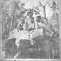 1. Jarvis HARE, 2. Esther YELVERTON, 3. Mary Rachel EXUM, 4. Rena PECK, 5.Neta HOOKS, and 6. Paul DARDEN, c.1900's, Wayne County, NC. Copies courtesy Amy Darden. General Negative Collection, State (8573142618).jpg
