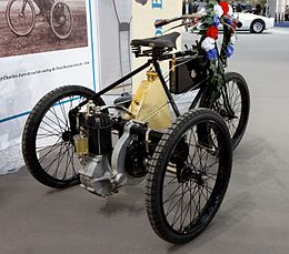 110 ans de l'automobile au Grand Palais - De Dion Bouton tricycle - 1899 - 005.jpg