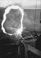 12.7 cm guns of USS Toledo (CA-133) shelling Wonsan in 1951.jpg
