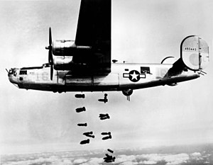 460th Space Wing - Image: 15th AF B 24 Liberator