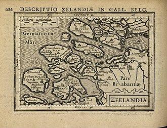 Petrus Bertius - Image: 1616 Zeeland Bertius