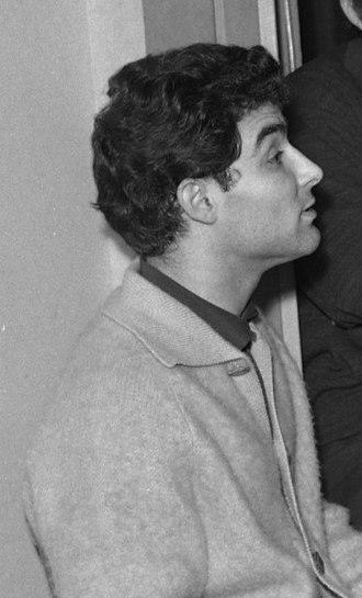 Albert Lance - Image: 17.10.1962. Jeanne Rhode. Roberto Benzi. etc. (1962) 53Fi 2977 (cropped)