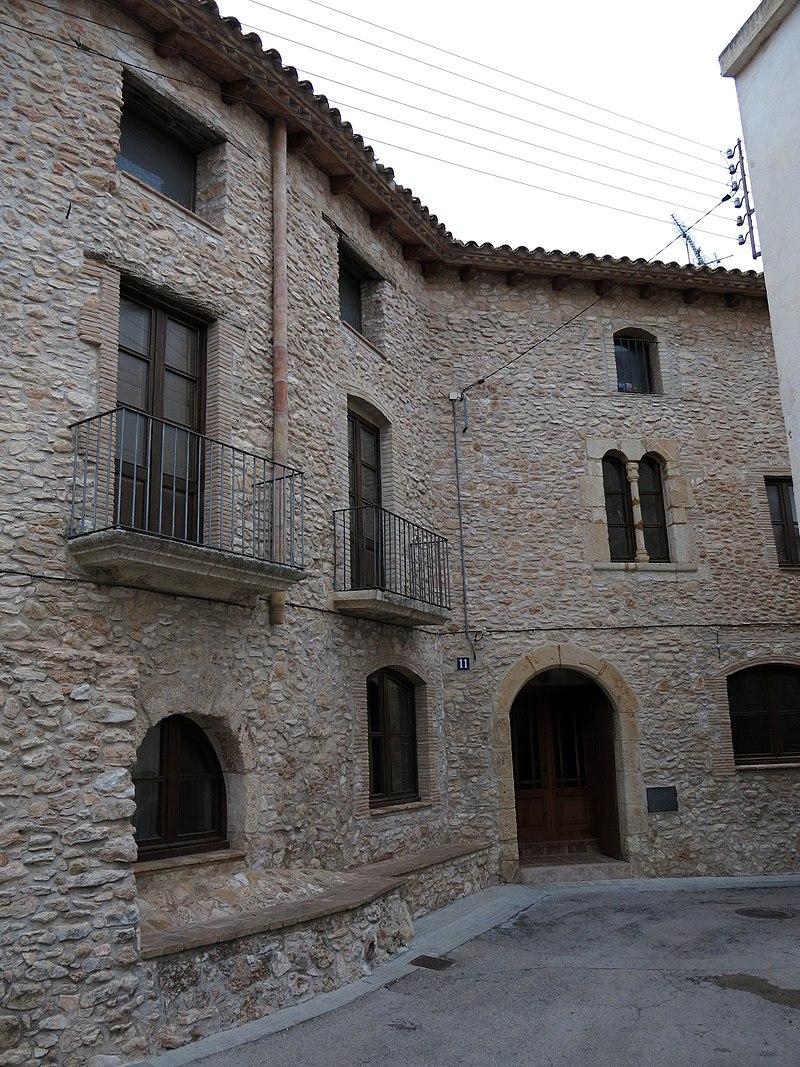 170 Cal Ramon del Telèfon, o Cal Garcia Vell (Llorenç del Penedès).JPG