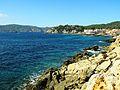 17 Punta Blanca (Sant Elm), al fons sa Dragonera.JPG