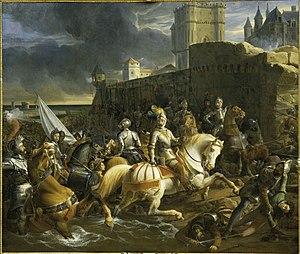 1838 François-Édouard Picot - The Siege of Calais.jpg
