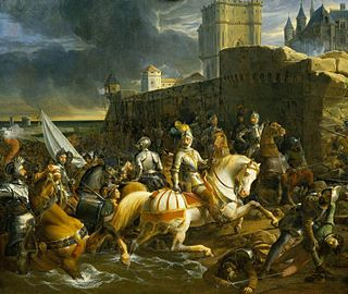 Siege of Calais (1558) 1558 battle between England and France