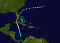 1876 Atlantic hurricane 5 track.png
