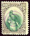 1881 Guatemala 10C Yv25 oblViolette.jpg