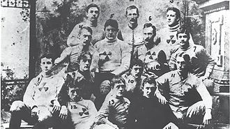 History of Tulane Green Wave football - 1893 Tulane Olive and Blue