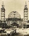 1895 Leitholf Otto, im Bau Hauptgebäude Gewerbeausstellung Berlin.jpg