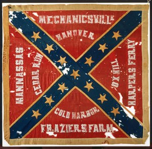 18th North Carolina Infantry - Image: 18th North Carolina Flag