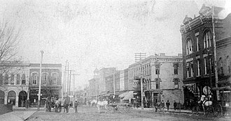 Mayfield, Kentucky - 1906 Broadway looking west, Mayfield, Kentucky