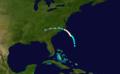 1913 Atlantic hurricane 4 track.png