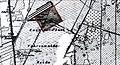 1917 circa Flugplatz-Atlas Hannover Vahrenwald Kartenausschnitt Alter Flughafen.jpg
