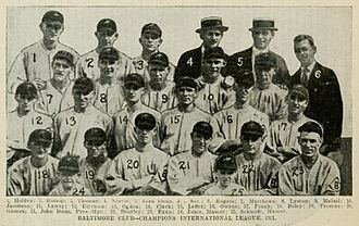 The National Baseball Association's top 100 minor league teams - The 1921 Baltimore Orioles were recognized as the second greatest team of all time.